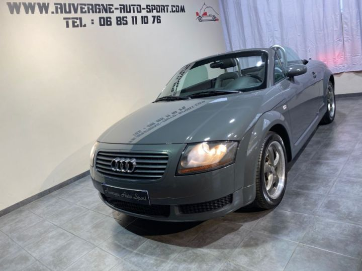 Audi TT (8N) 1.8 T 180cv CABRIOLET 3P BVM GRIS FONCE - 3