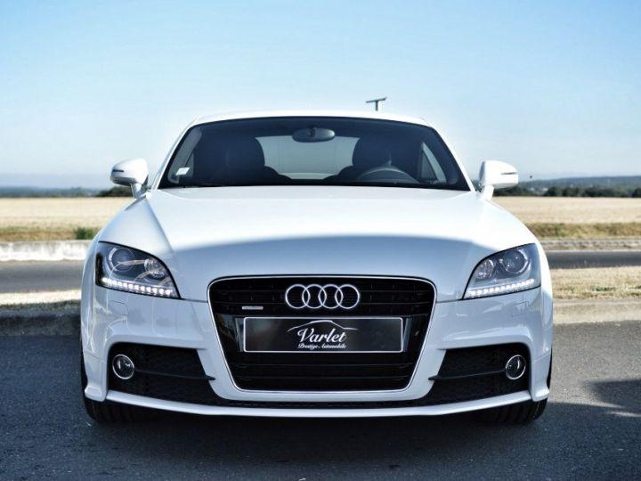 Audi TT Magnifique Audi TT SLINE QUATTRO MK2 2.0 TDI 170ch STRONIC véritable 1ère main full histo. AUDI BLANC GLACIER - 2