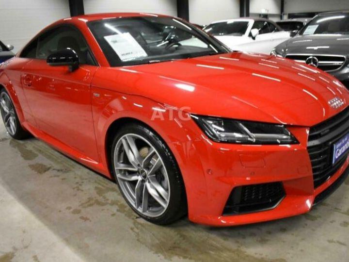 Audi TT quattro S-line rouge metallisé  - 6