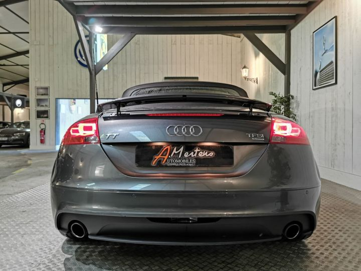 Audi TT Roadster 2.0 TFSI 211 CV SLINE QUATTRO BVA Gris - 4