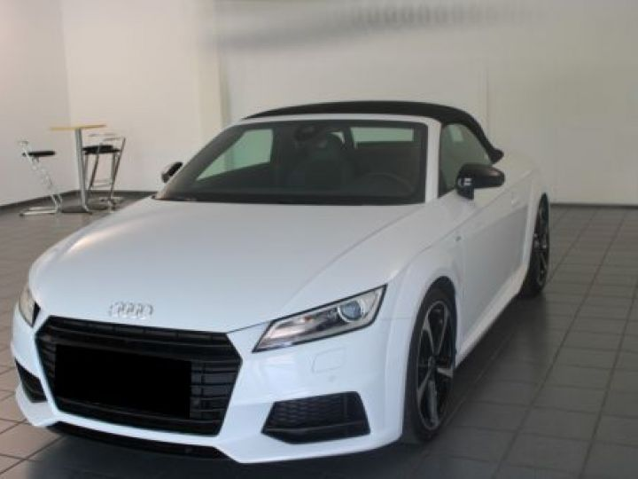 Audi TT Roadster 2.0 TFSI 230CH S LINE S TRONIC 6 BLANC Occasion - 1