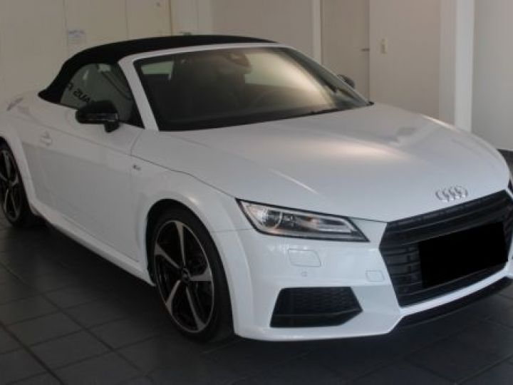 Audi TT Roadster 2.0 TFSI 230CH S LINE S TRONIC 6 BLANC Occasion - 2