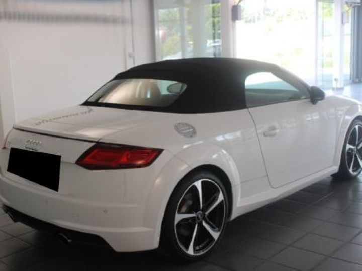 Audi TT Roadster 2.0 TFSI 230CH S LINE S TRONIC 6 BLANC Occasion - 3
