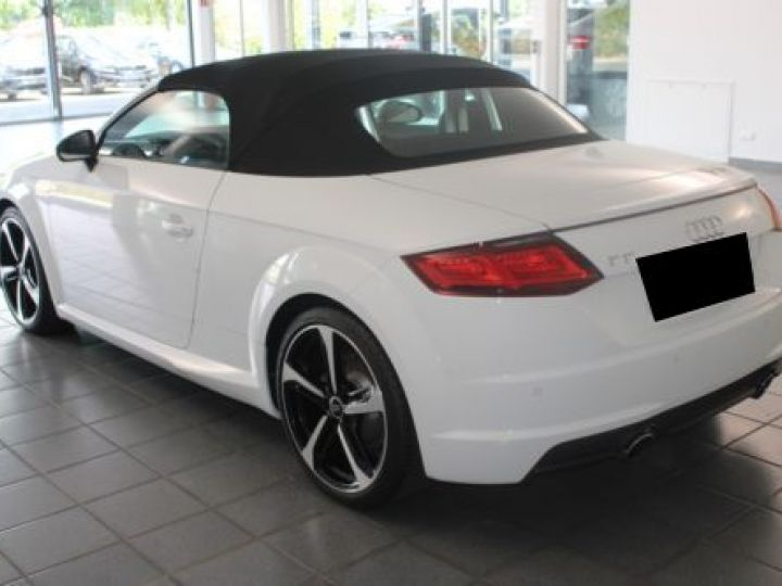 Audi TT Roadster 2.0 TFSI 230CH S LINE S TRONIC 6 BLANC Occasion - 4