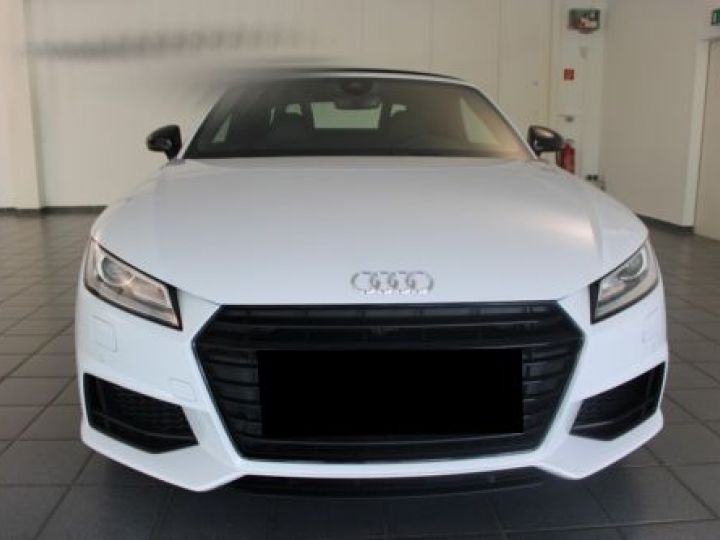 Audi TT Roadster 2.0 TFSI 230CH S LINE S TRONIC 6 BLANC Occasion - 5
