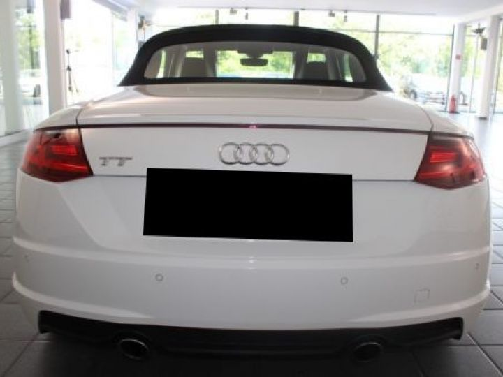 Audi TT Roadster 2.0 TFSI 230CH S LINE S TRONIC 6 BLANC Occasion - 7