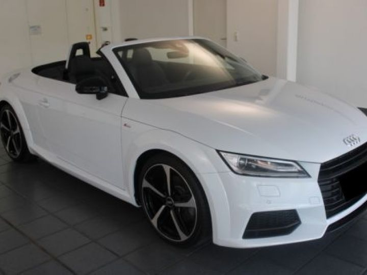 Audi TT Roadster 2.0 TFSI 230CH S LINE S TRONIC 6 BLANC Occasion - 9
