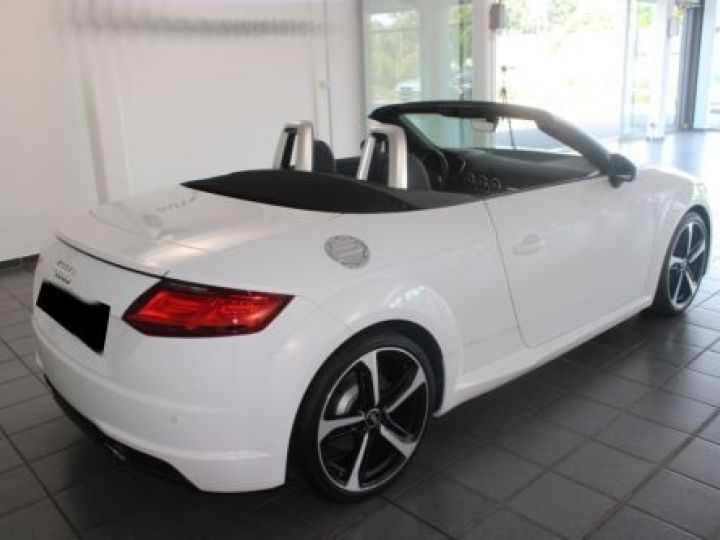 Audi TT Roadster 2.0 TFSI 230CH S LINE S TRONIC 6 BLANC Occasion - 10