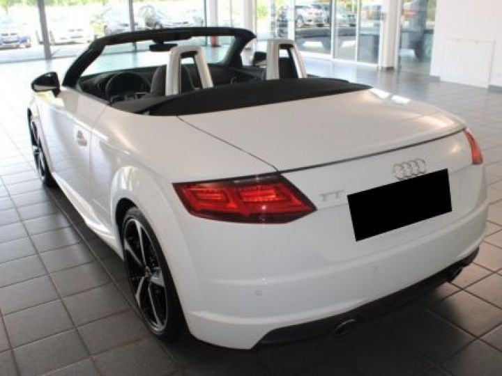 Audi TT Roadster 2.0 TFSI 230CH S LINE S TRONIC 6 BLANC Occasion - 11