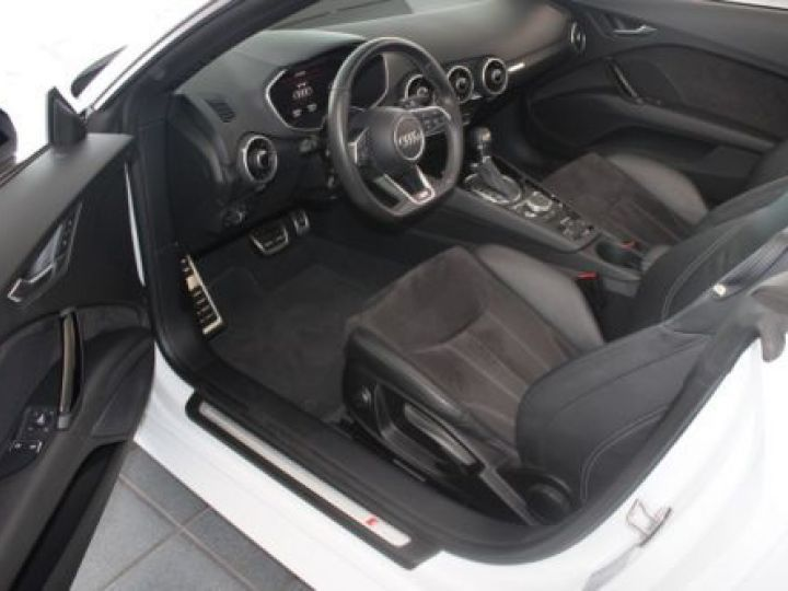 Audi TT Roadster 2.0 TFSI 230CH S LINE S TRONIC 6 BLANC Occasion - 12
