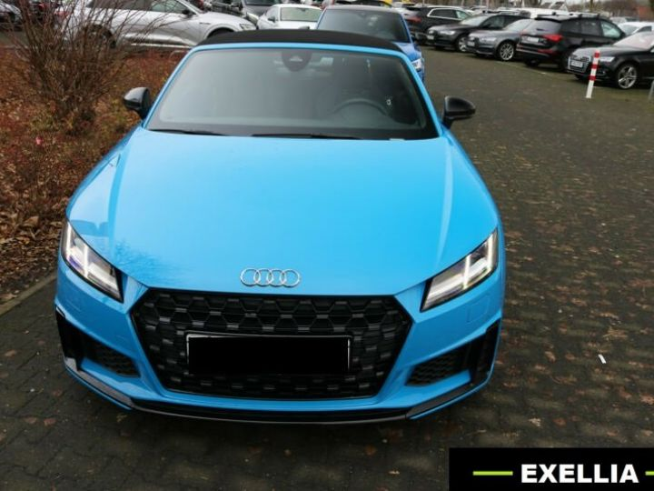 Audi TT ROADSTER 45 TFSI S LINE COMPETITION QUATTRO S TRONIC bleu Occasion - 1