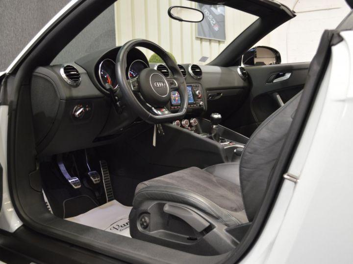Audi TT Roadster Magnifique audi tt mk2 roadster s-line competition 2.0 tfsi 211ch 19 rotor magnetic ride mmi plus BLANC GLACIER - 7