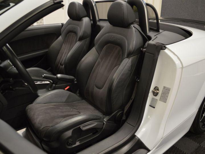 Audi TT Roadster Magnifique audi tt mk2 roadster s-line competition 2.0 tfsi 211ch 19 rotor magnetic ride mmi plus BLANC GLACIER - 11