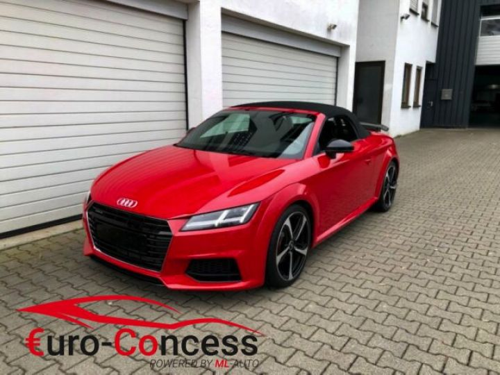 Audi TT Roadster TT S-Tronic Quattro Pack Competition rouge - 1
