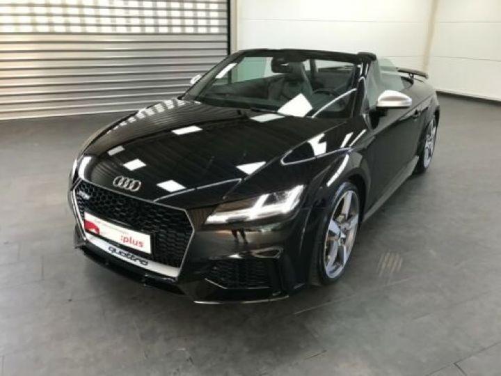 Audi TT RS Noir métallisée  - 1