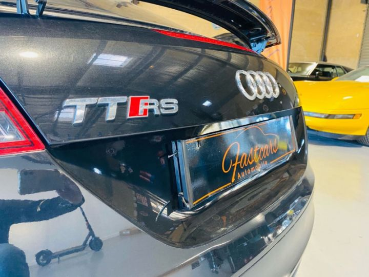 Audi TT RS 2.5 TFSI 340CH QUATTRO Noir - 9