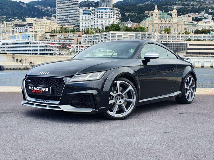 Audi TT RS COUPE 2.5 TFSI 400CH QUATTRO S TRONIC 7 EXCLUSIVE Noir Métal Occasion - 1