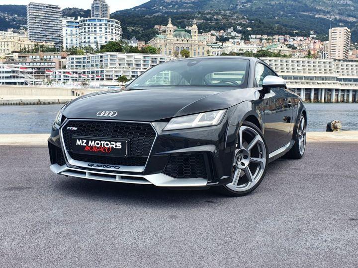 Audi TT RS COUPE 2.5 TFSI 400CH QUATTRO S TRONIC 7 EXCLUSIVE Noir Métal Occasion - 2