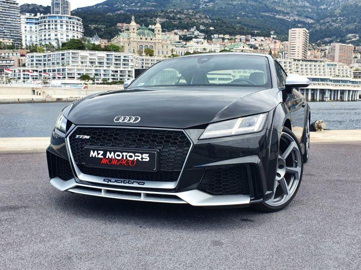 Audi TT RS COUPE 2.5 TFSI 400CH QUATTRO S TRONIC 7 EXCLUSIVE Noir Métal Occasion - 4