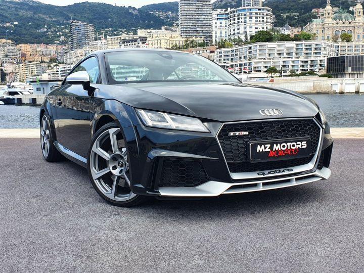 Audi TT RS COUPE 2.5 TFSI 400CH QUATTRO S TRONIC 7 EXCLUSIVE Noir Métal Occasion - 7