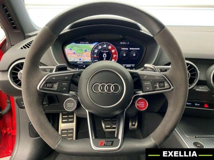 Audi TT RS ROADSTER 2.5 TFSI QUATTRO  ROUGE PEINTURE METALISE  Occasion - 4