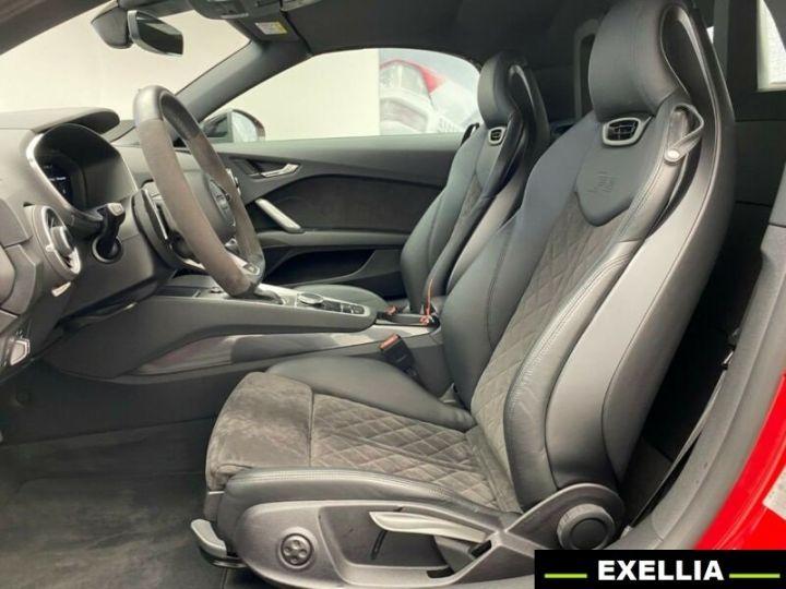 Audi TT RS ROADSTER 2.5 TFSI QUATTRO  ROUGE PEINTURE METALISE  Occasion - 5
