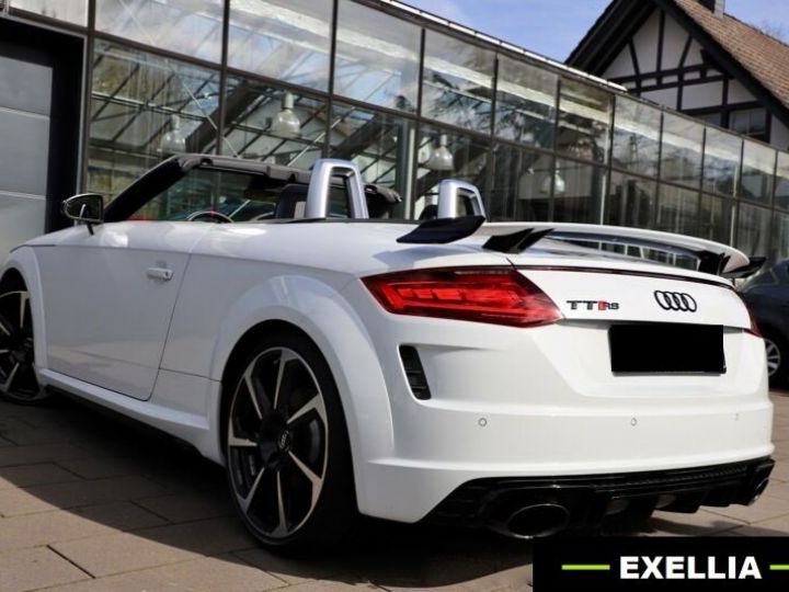 Audi TT RS RS ROADSTER 2.5 TFSI QUATTRO  BLANC  Occasion - 5