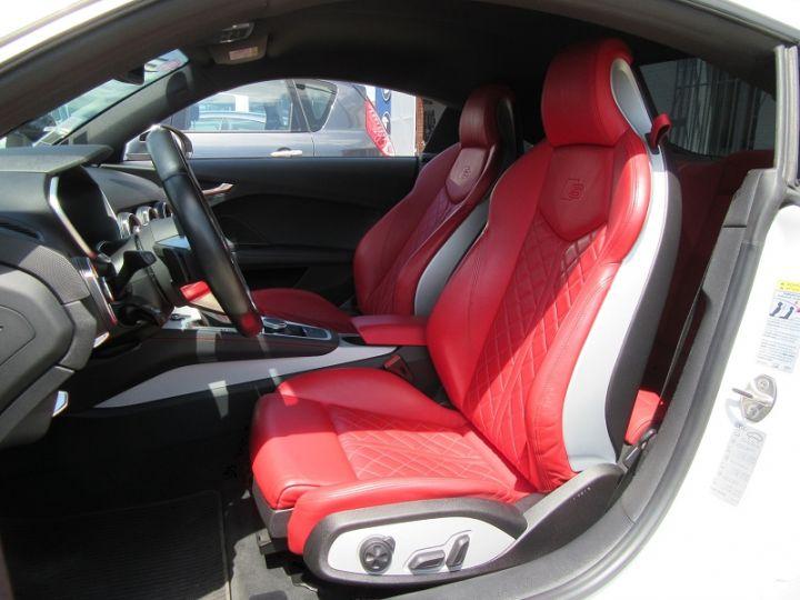 Audi TT S 2.0 TFSI 310CH QUATTRO S TRONIC 6 BLANC Occasion - 4