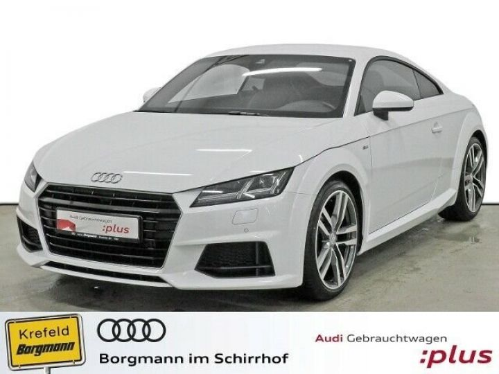 Audi TT SLINE blanc  - 1