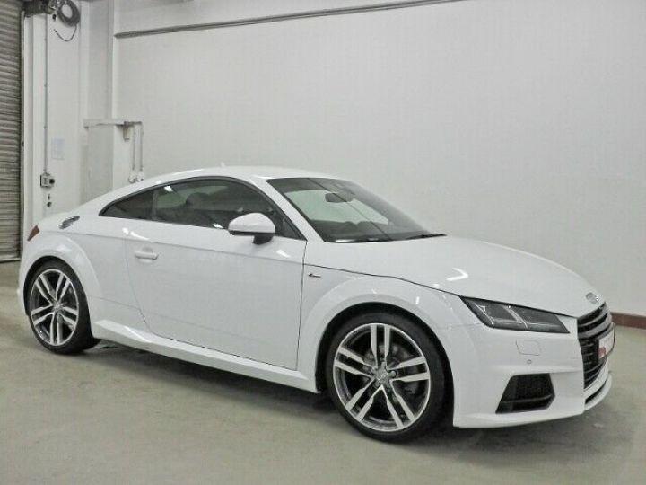 Audi TT SLINE blanc  - 2