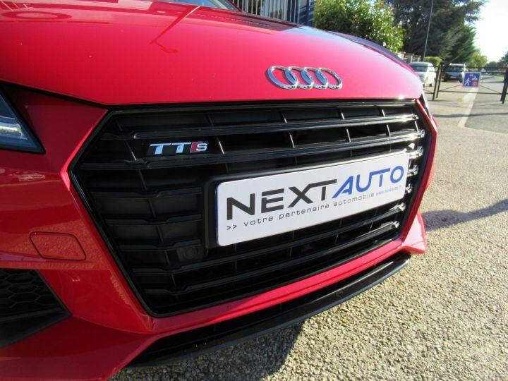 Audi TTS 2.0 TFSI 310CH QUATTRO S TRONIC 6 Rouge - 7