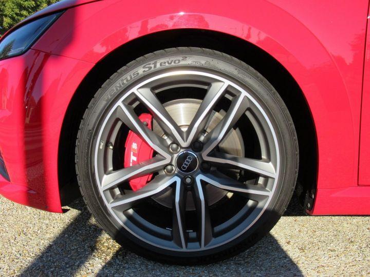 Audi TTS 2.0 TFSI 310CH QUATTRO S TRONIC 6 Rouge - 8