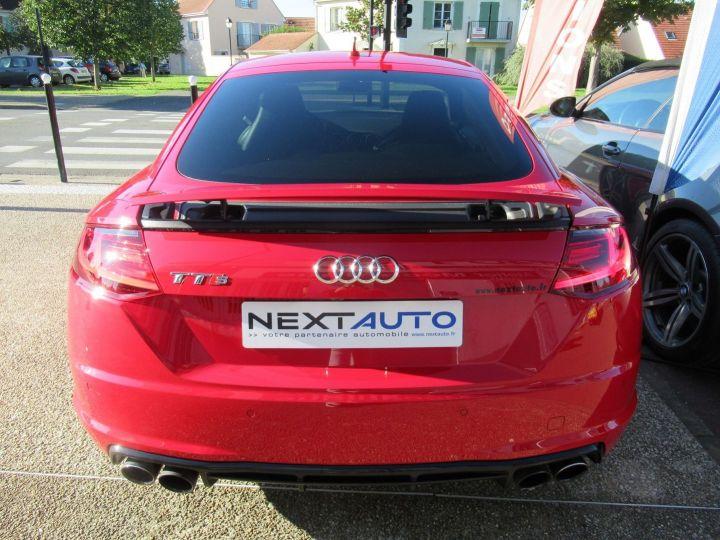 Audi TTS 2.0 TFSI 310CH QUATTRO S TRONIC 6 Rouge - 10