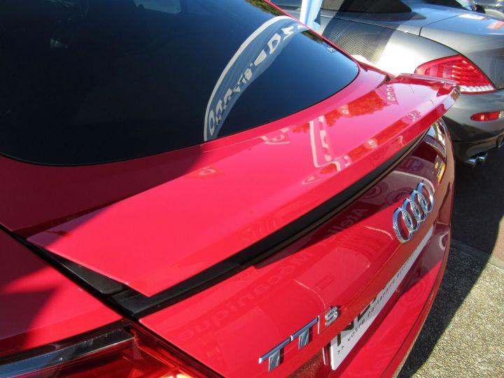 Audi TTS 2.0 TFSI 310CH QUATTRO S TRONIC 6 Rouge - 13