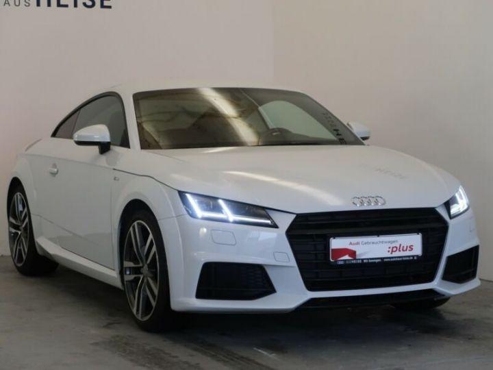 Audi TTS  Coupé 1.8 TFSI S line/S- Bleu Peinture métallisée - 1