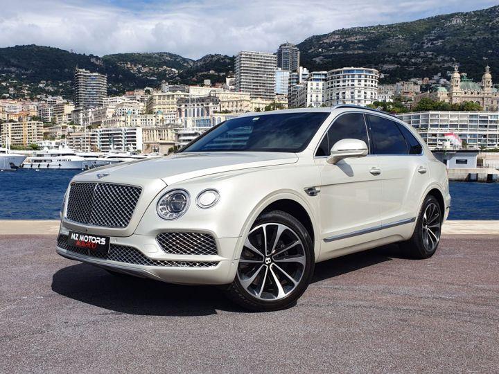 Bentley Bentayga V8 DIESEL 435 CV White Sand Occasion - 1