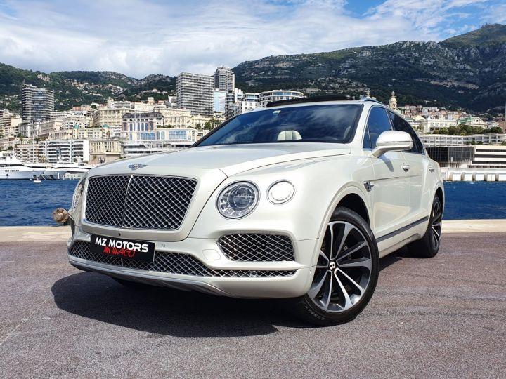 Bentley Bentayga V8 DIESEL 435 CV White Sand Occasion - 2
