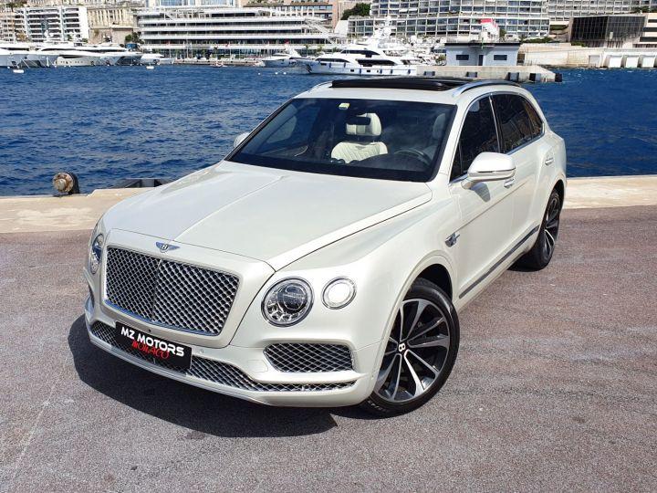 Bentley Bentayga V8 DIESEL 435 CV White Sand Occasion - 3