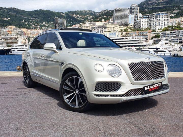 Bentley Bentayga V8 DIESEL 435 CV White Sand Occasion - 5