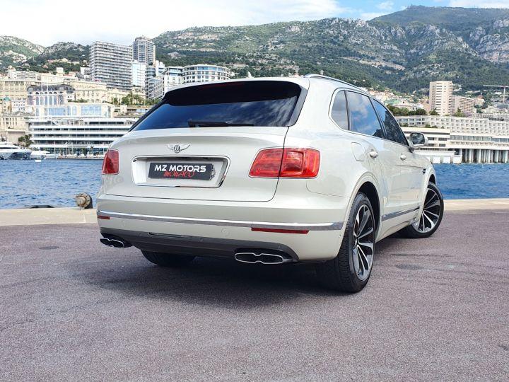 Bentley Bentayga V8 DIESEL 435 CV White Sand Occasion - 9