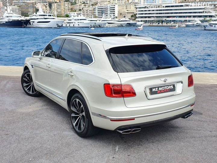Bentley Bentayga V8 DIESEL 435 CV White Sand Occasion - 13