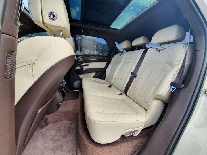 Bentley Bentayga V8 DIESEL 435 CV White Sand Occasion - 18