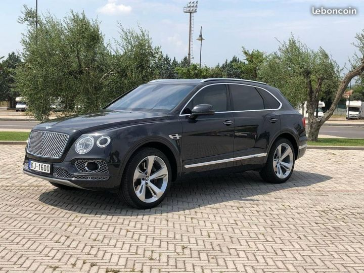 Bentley Bentayga w12  - 2