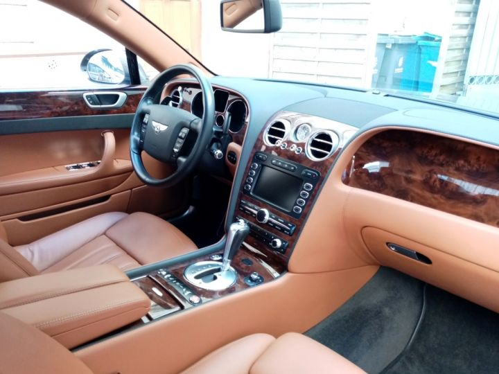 Bentley Continental Flying Spur Gris anthracite métal - 9