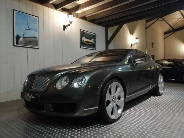 Bentley Continental GT 6.0 W12 560 CV BVA Gris - 2