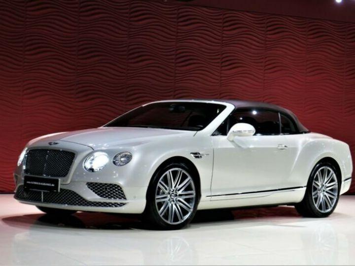 Bentley Continental GT Bentley Continental GT 4.0 V8 * CLIMAT DE SIEGE * SUSPENSION PNEUMATIQUE * 21 GARANTIE 12 MOIS Blanc - 1