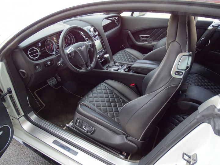 Bentley Continental GT GT II COUPE V8 S 528 CV MULLINER - MONACO BLANC - 9