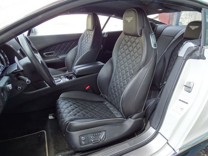 Bentley Continental GT  GT II COUPE V8 S 528 CV MULLINER - MONACO BLANC - 11