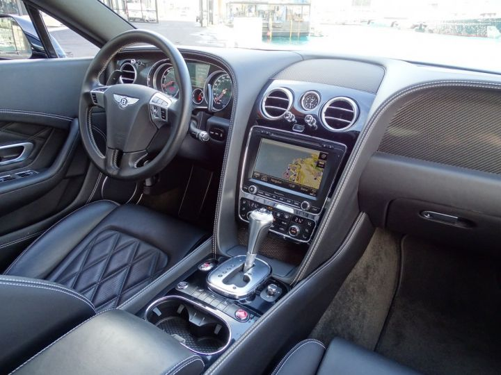 Bentley Continental GT II COUPE V8 507 CV MULLINER - MONACO Noir métal (Covering Blanc per - 10