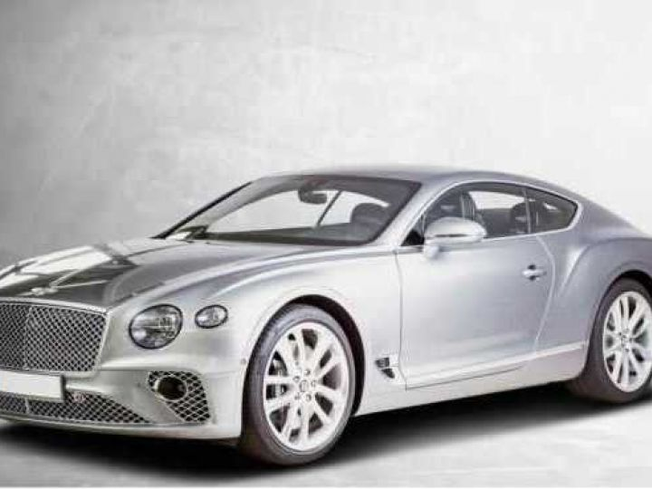 Bentley Continental GT NEW Continental GT V12 Hallmark Grau métal - 1